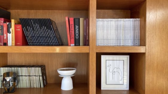 Serie Bibliotecas- María Beatriz Blanco